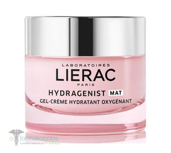 Lierac Hydragenist Gel Creme Ενυδατικό Gel-Κρέμα Οξυγόνωσης & Επαναπύκνωσης, για Μικτές επιδερμίδες, 50 ml