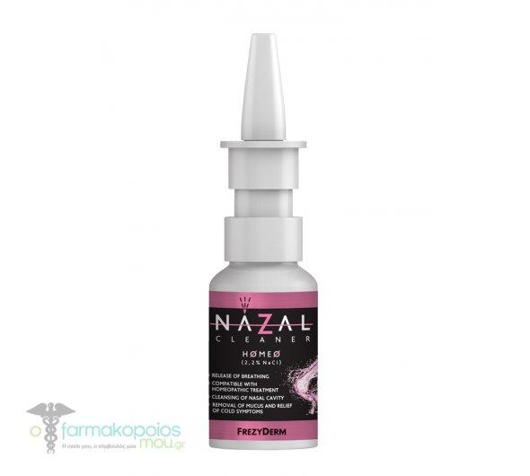 Frezyderm Nazal Cleaner Homeo 2.2% NaCl saline solution, 30ml