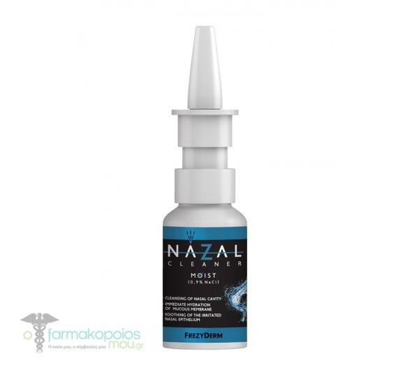 Frezyderm Nazal Cleaner Moist Hypertonic 0.9% NaCl saline, 30ml