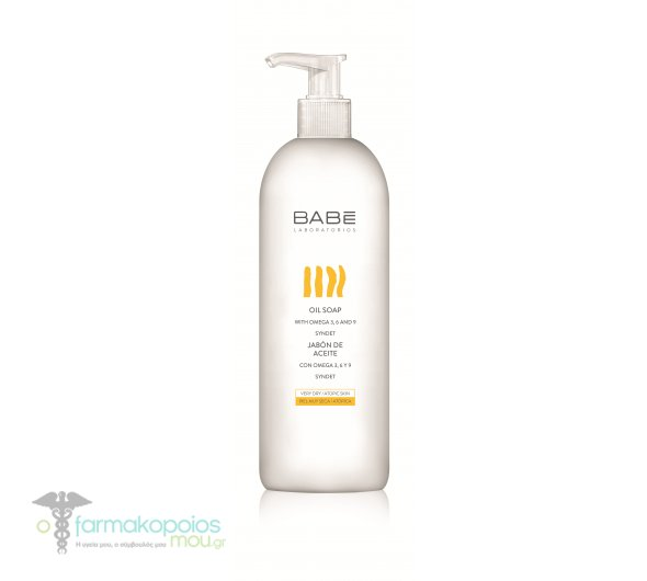 Babe Body Oil Soap Enriched with Oils for Dry / Atopic Skin, 500ml