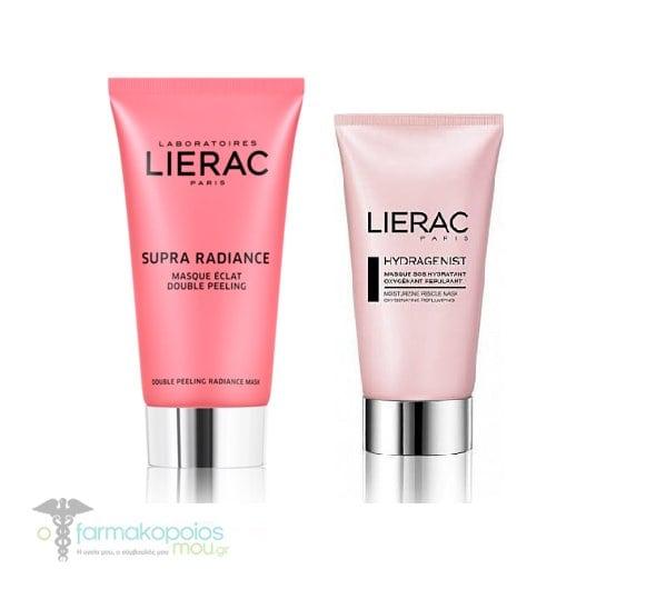 Lierac Promo Supra Radiance Μάσκα Λάμψης Διπλής Απολέπισης, 75ml & ΔΩΡΟ Μάσκα SOS Ενυδάτωσης, 75ml