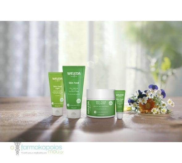 Weleda Skin Food Face or Body Cream for Dry & Rough Skin Ενυδατική Κρέμα Σώματος, Χεριών & Προσώπου για Πολύ Ξηρή Επιδερμίδα, 75 ml