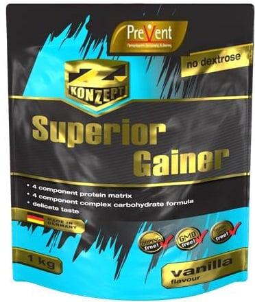 Prevent Z-Konzept Superior GainerΠρωτεΐνη, με γεύση βανίλια, 1000gr