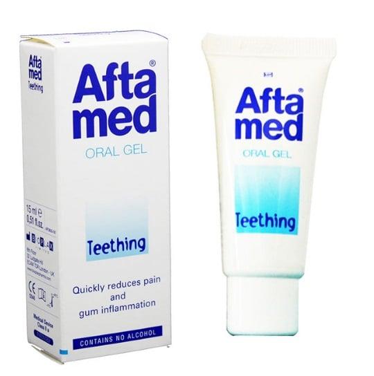 Curaprox Aftamed Teething Gel Τζελ για την ανακούφιση από την Πρώτη Οδοντοφυΐα, 15ml