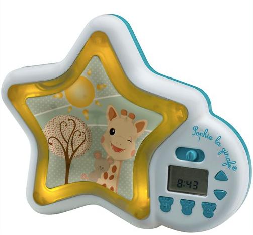 Sophie la Girafe Tik Tok Go 850727 Ρολόι, Ξυπνητήρι & Εκπαίδευση Ύπνου, 1 τεμάχιο