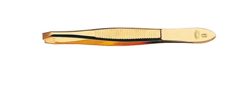 Nippes Χρυσωμένο Τσιμπιδάκι Φρυδιών Καμπυλωτό, 1 τεμάχιο