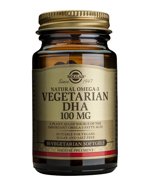 Solgar Vegeterian DHA 100mg, 30caps