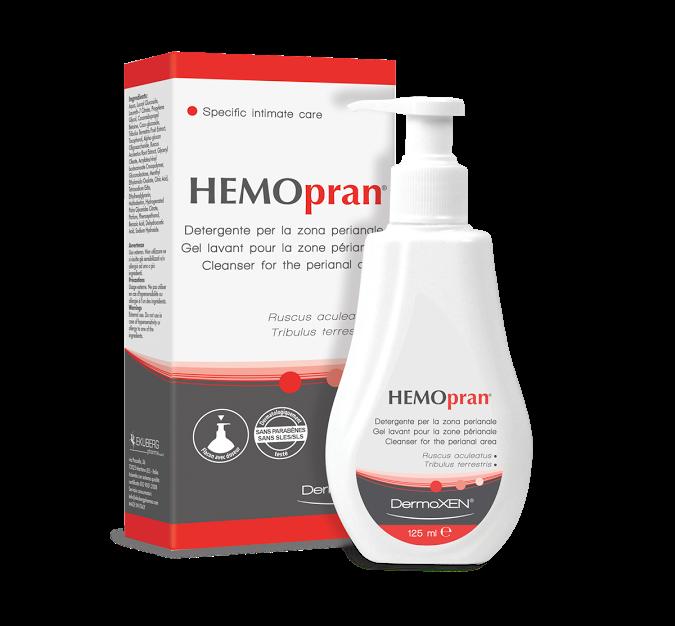 Dermoxen Hemopran Perianal Cleanser Ειδικό Καθαριστικό για την περιοχή του πρωκτού, 125ml