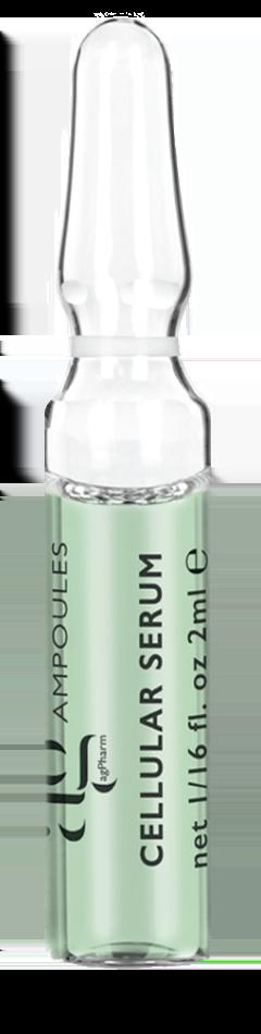AG Pharm Plant Stem Cells Serum Συμπυκνωμένος Ενυδατικός Ορός με φυτικά βλαστοκκύταρα, 1 amp x 2ml
