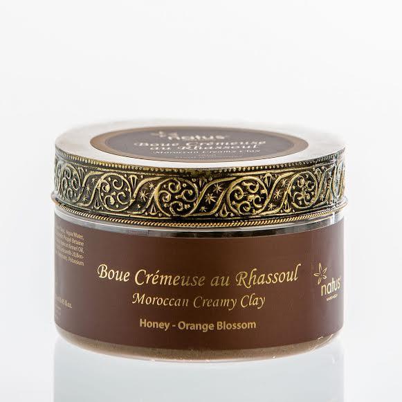 Natus Marrakech Creamy Clay Κρεμώδης Ηφαιστειακός Πηλός Μαρόκου, 250ml
