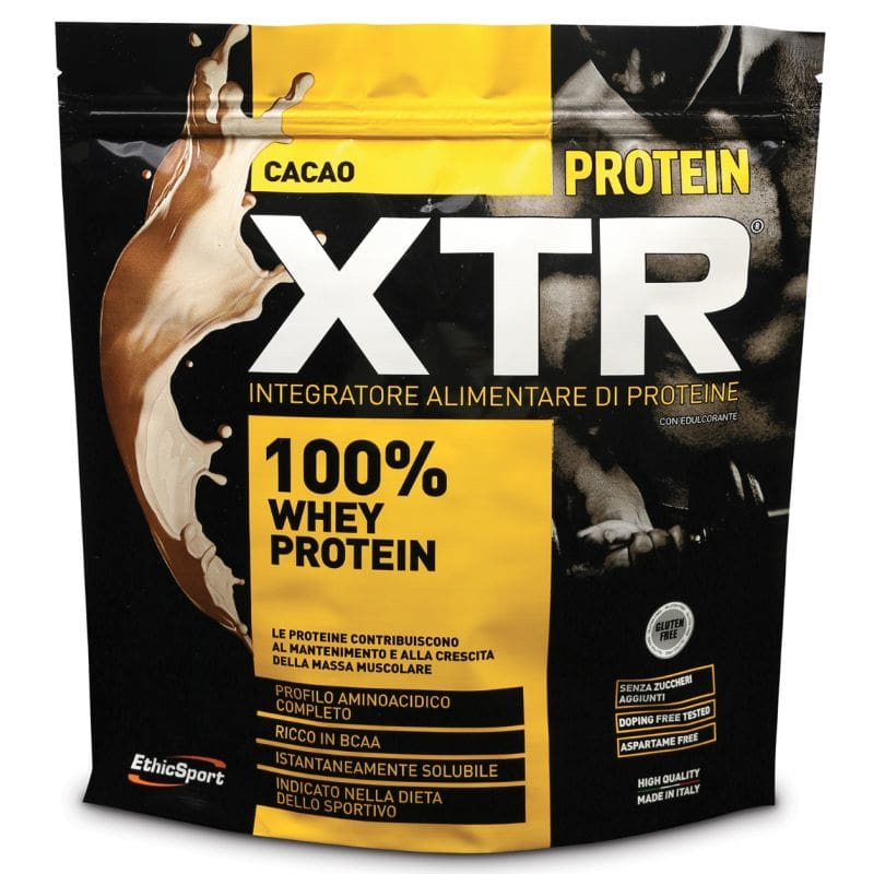 Ethicsport Protein XTR Cacao Protein food supplement , 500gr