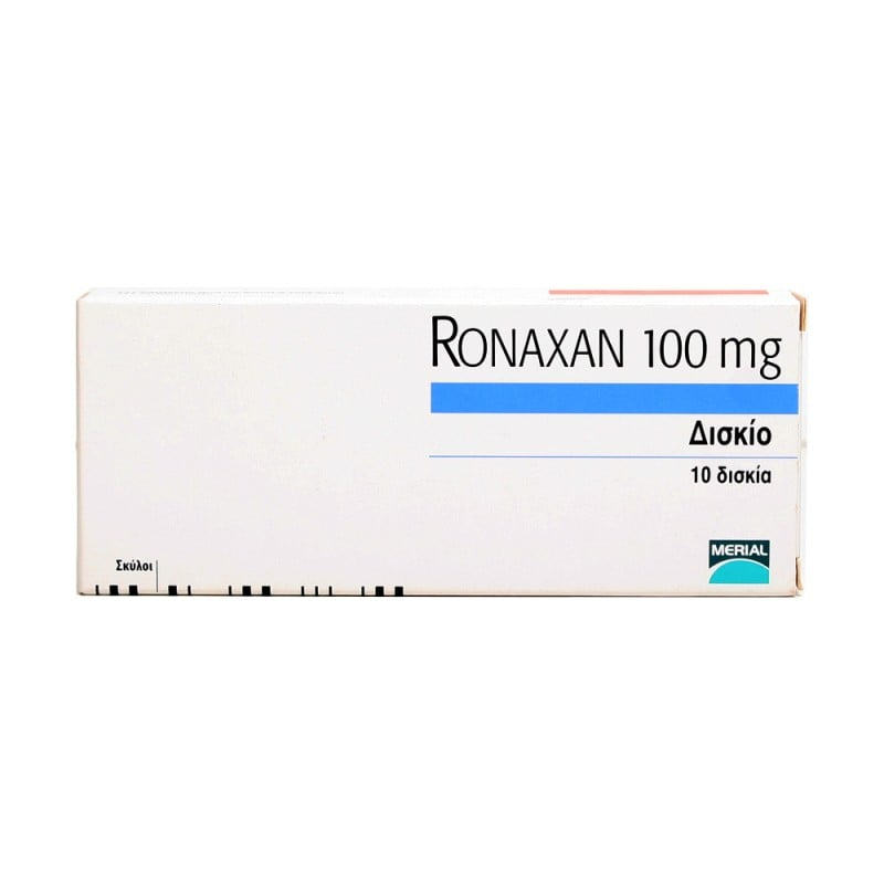 Merial Ronaxan 100 Αντιβιοτικό σε Μορφή Δισκίων για Σκύλους, 10 tabs
